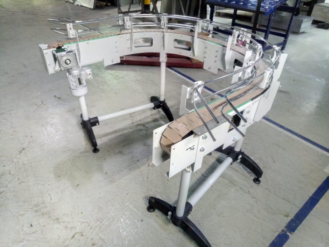Конвейер пластинчатый поворотный от производителей транспортеры и думпкары