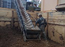 Аренда ленточного транспортера для грунта приводной барабан на транспортер