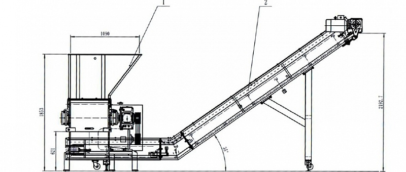 Расчет конвейерного оборудования конвейер на шахте